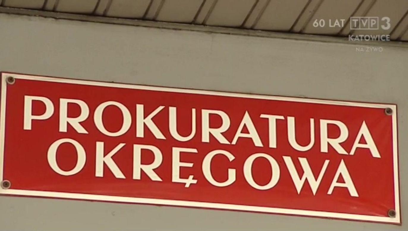 Oskarżony wyraził skruchę (fot. TVP3 Katowice)
