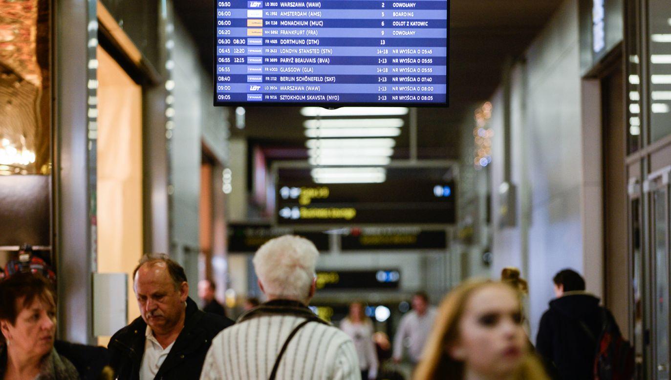 Kraków Airport jest drugim lotniskiem w Polsce pod względem liczby obsłużonych pasażerów  (fot. Omar Marques/SOPA Images/LightRocket via Getty Images)
