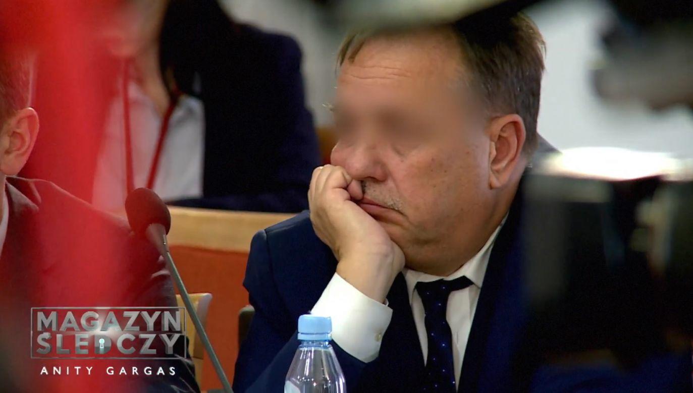 """""""Czyściciel kamienic"""" Marek M. (fot. """"Magazyn śledczy Anity Gargas"""