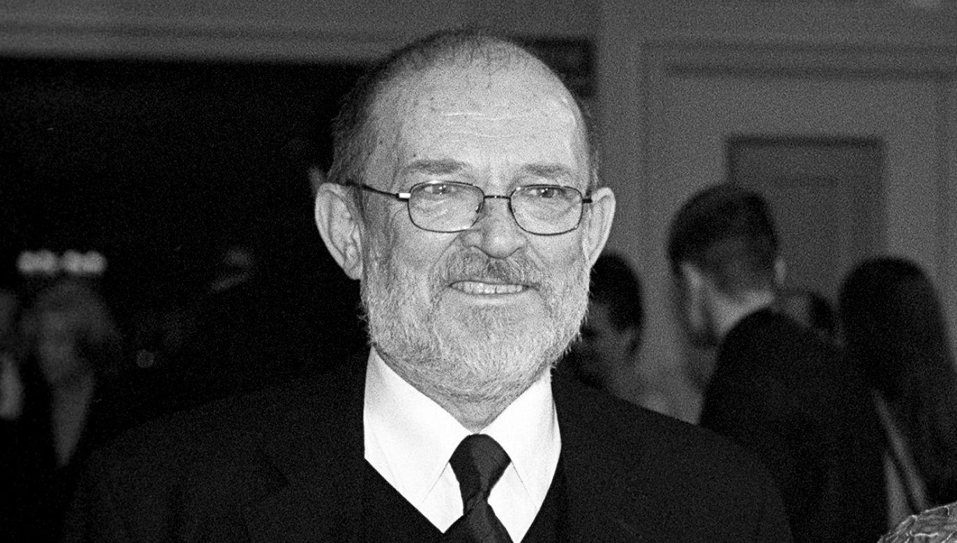 Mariusz Chwedczuk odszedł w wieku 85 lat. Urodził się w 1933 roku w Hrubieszowie. Był absolwentem wydziału reżyserii PWST w Łodzi (1961) oraz ASP w Krakowie (1965) (fot. arch. TVP/PAP- Ireneusz Sobieszczuk)