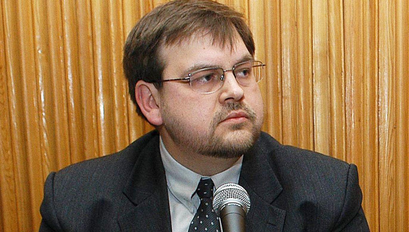 Dr hab. Henryk Głębocki (fot. arch.PAP/Andrzej Rybczyński)