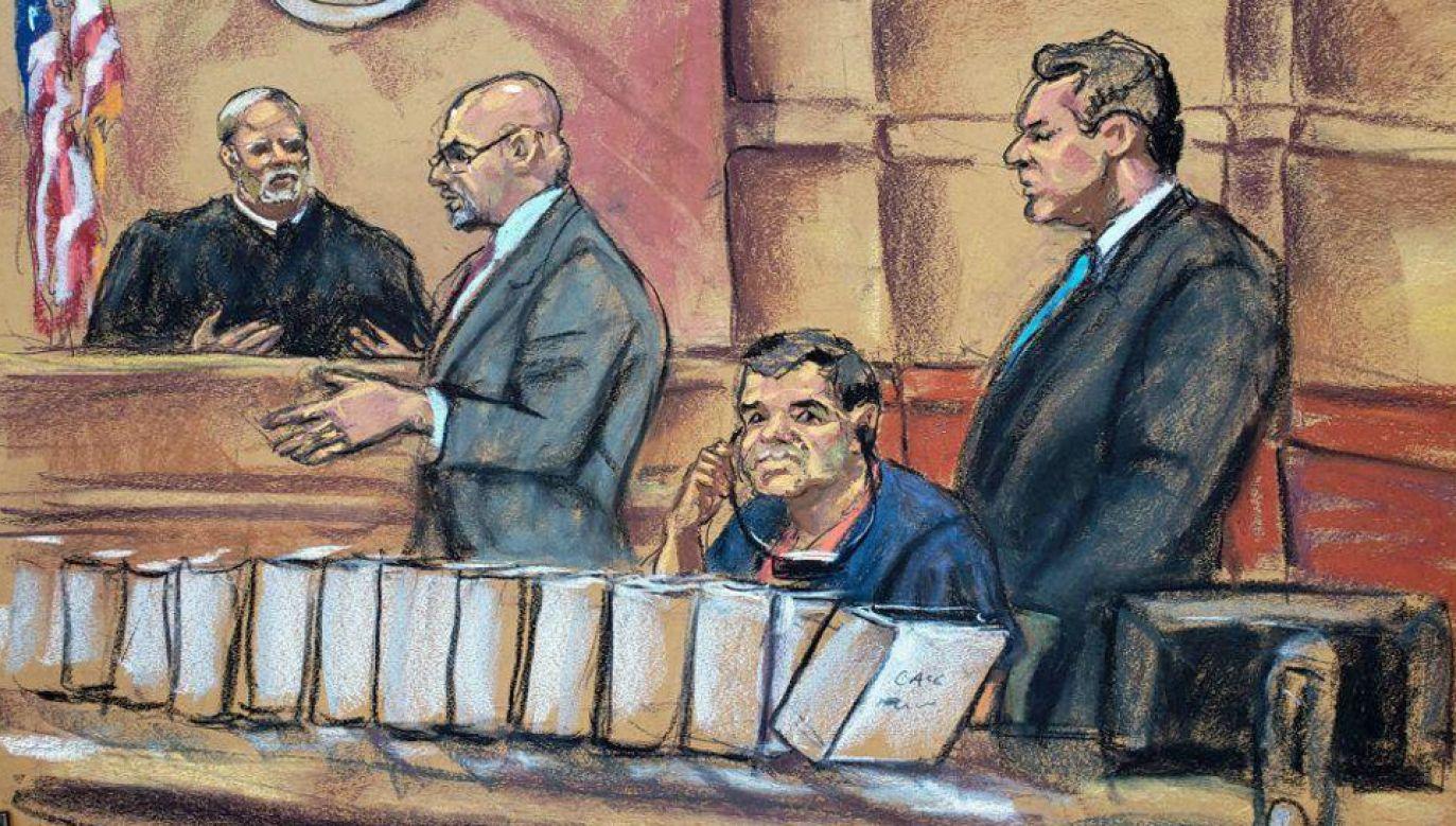 """Joaquinowi """"El Chapo"""" Guzmanowi grozi dożywocie (fot. TT/LaOpinionLA)"""