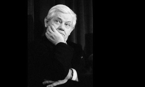 Zbigniew Herbert, 1992 rok. Fot. PAP/CAF-Piotr Janowski