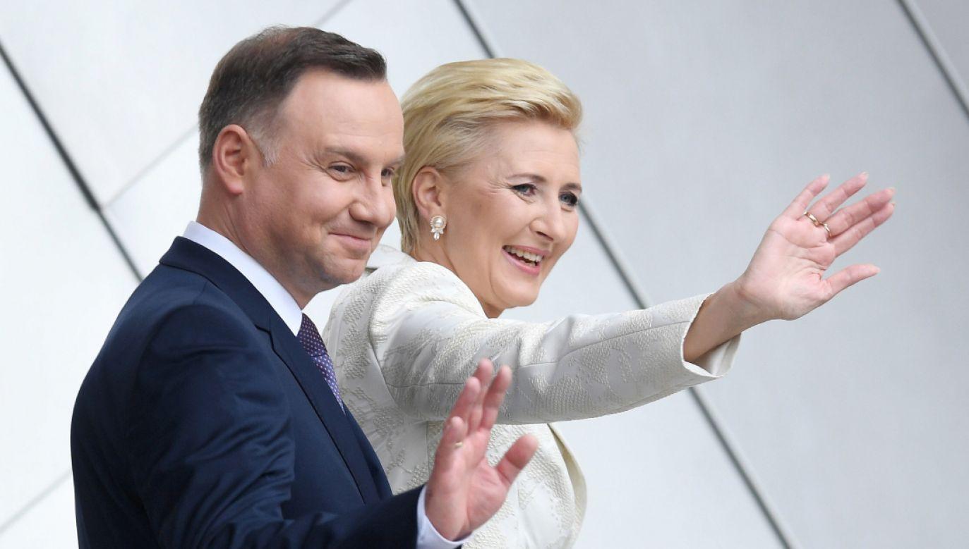 Para prezydencka (fot. PAP/Radek Pietruszka)