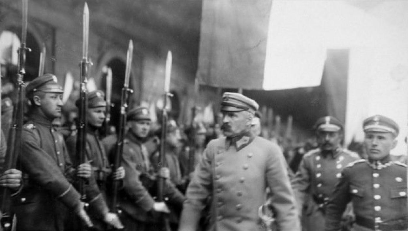 Depeszę wystosował naczelnik państwa polskiego Józef Piłsudski (fot. TT/Marek Kuchciński)