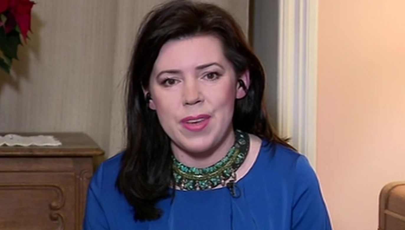 Dominika Ćosić, korespondentka TVP w Brukseli (fot. TVP Info)