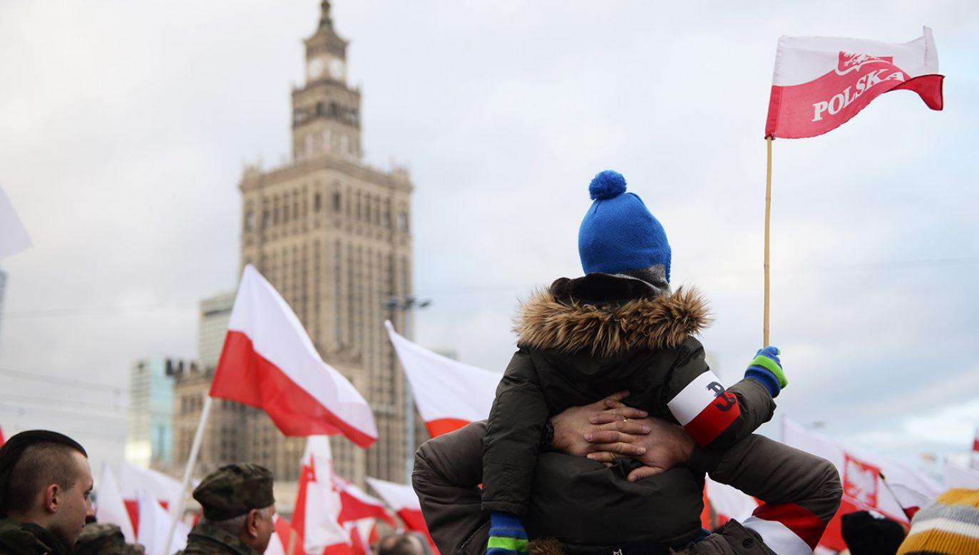 Jan Tomasz Gross uważa, że marsz był pokazem drzemiącego w Polakach rasizmu (fot. PAP/Jacek Turczyk)