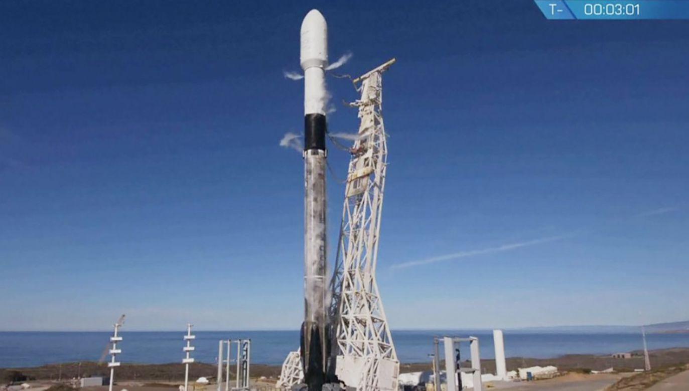 Start rakiety Falcon 9 był dotąd przekładany trzy razy (fot. Space X)