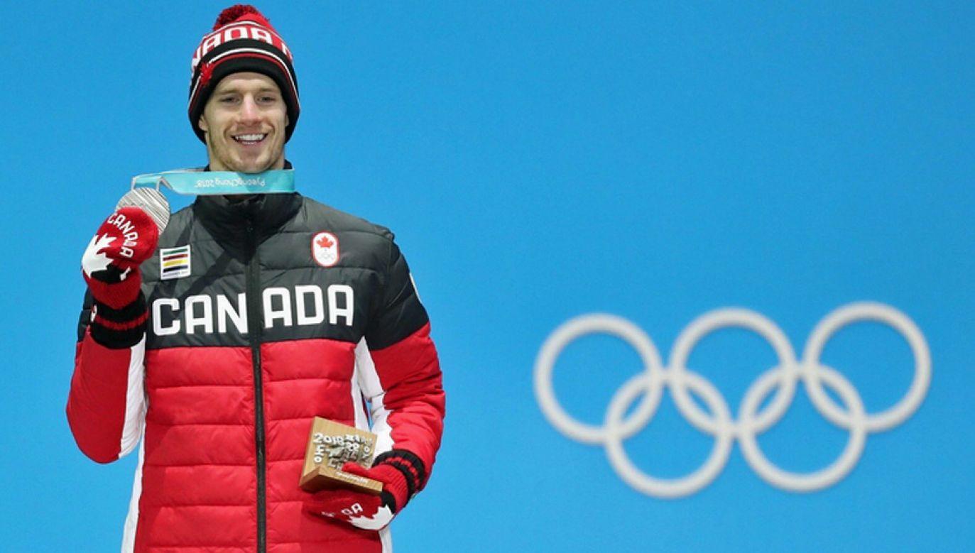 Max Parrot wywalczył medal w konkurencji slopestyle (fot. TT/Max Parrot)