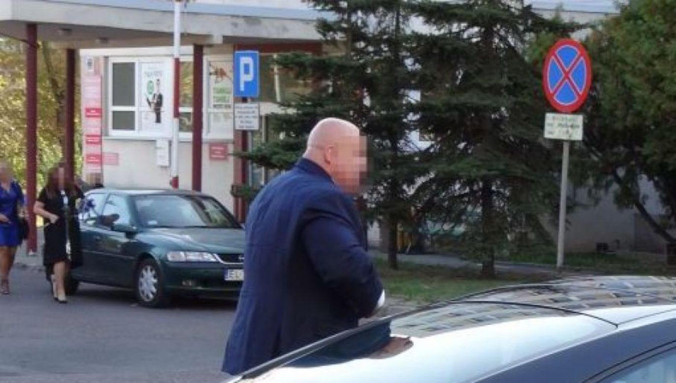 Jarosław S., better known as Masa, was arrested on Wednesday on charges of extortion. Photo: TVP Info/PR