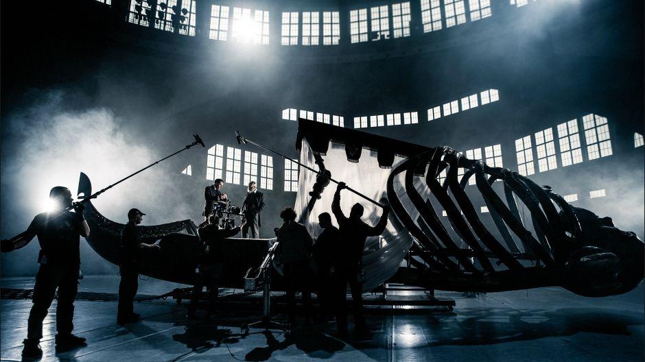 """Spektakl wyreżyserował wielokrotnie nagradzany, m.in. Orłem i Złotym Lwem za film """"Bogowie"""" – Łukasz Palkowski (fot. J. Sosinski/TVP)"""