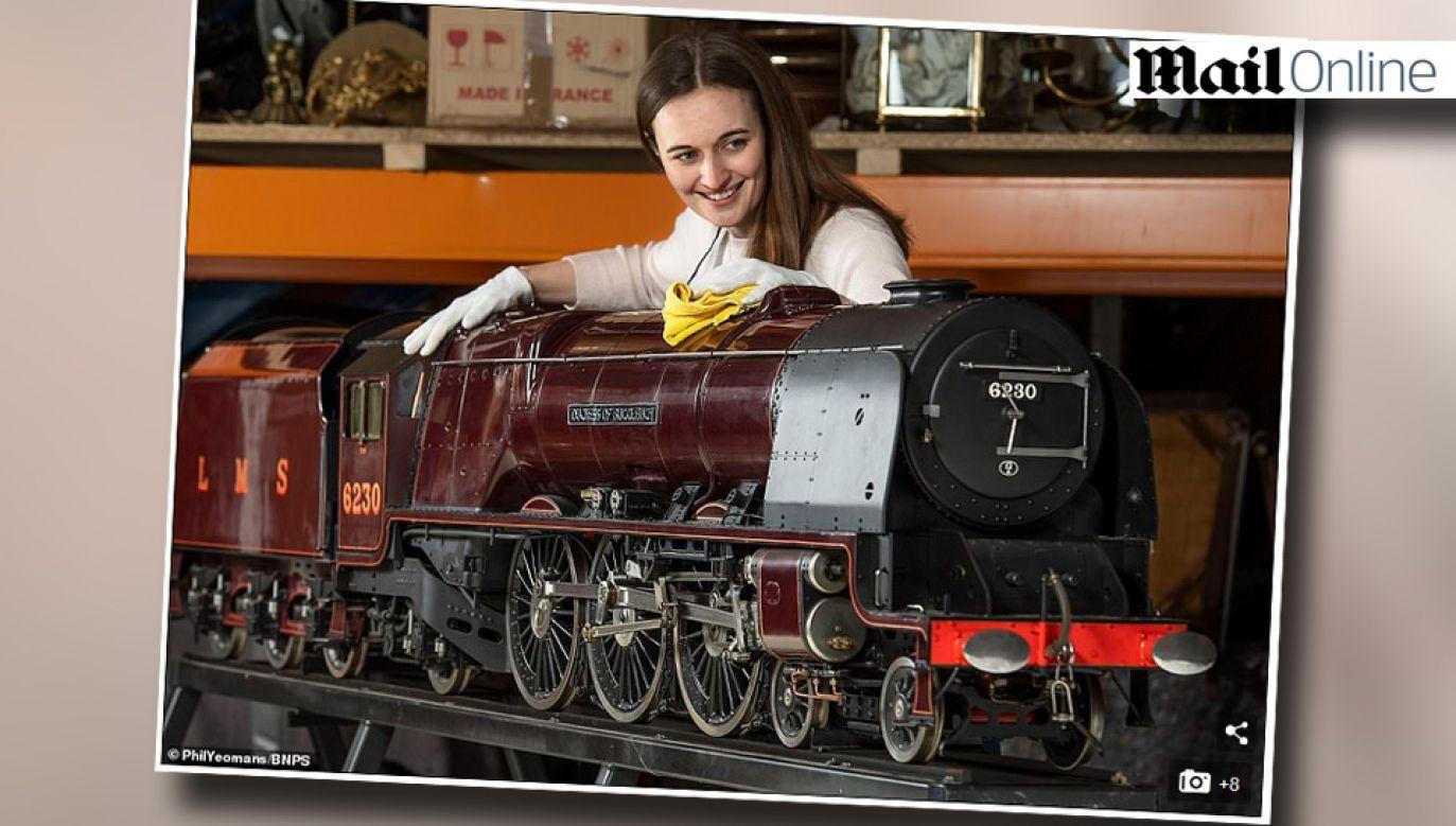 Lokomotywę stworzył jeden z najwybitniejszych modelarzy w historii Harry Powell (fot. Dailymail.co.uk)