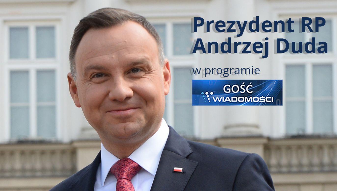 Prezydent RP Andrzej Duda (fot. PAP/Jacek Turczyk)
