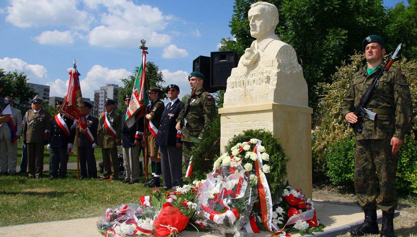 """Gen. Emil Fieldorf """"Nil"""" był dowódcą legendarnego Kedywu AK (fot. arch. PAP/Krzysztof Świderski)"""