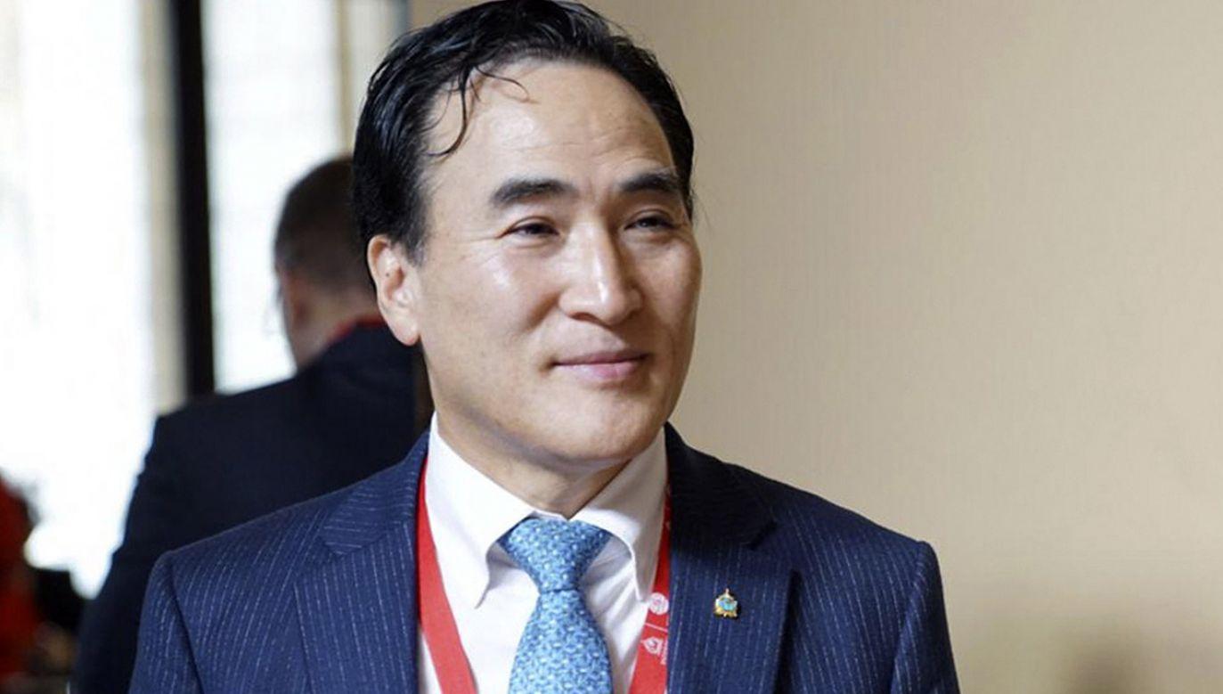"""Wybór kandydata Korei Południowej """"jest ciosem"""" dla Rosji (fot. PAP/EPA/KOREA NATIONAL POLICE AGENCY)"""
