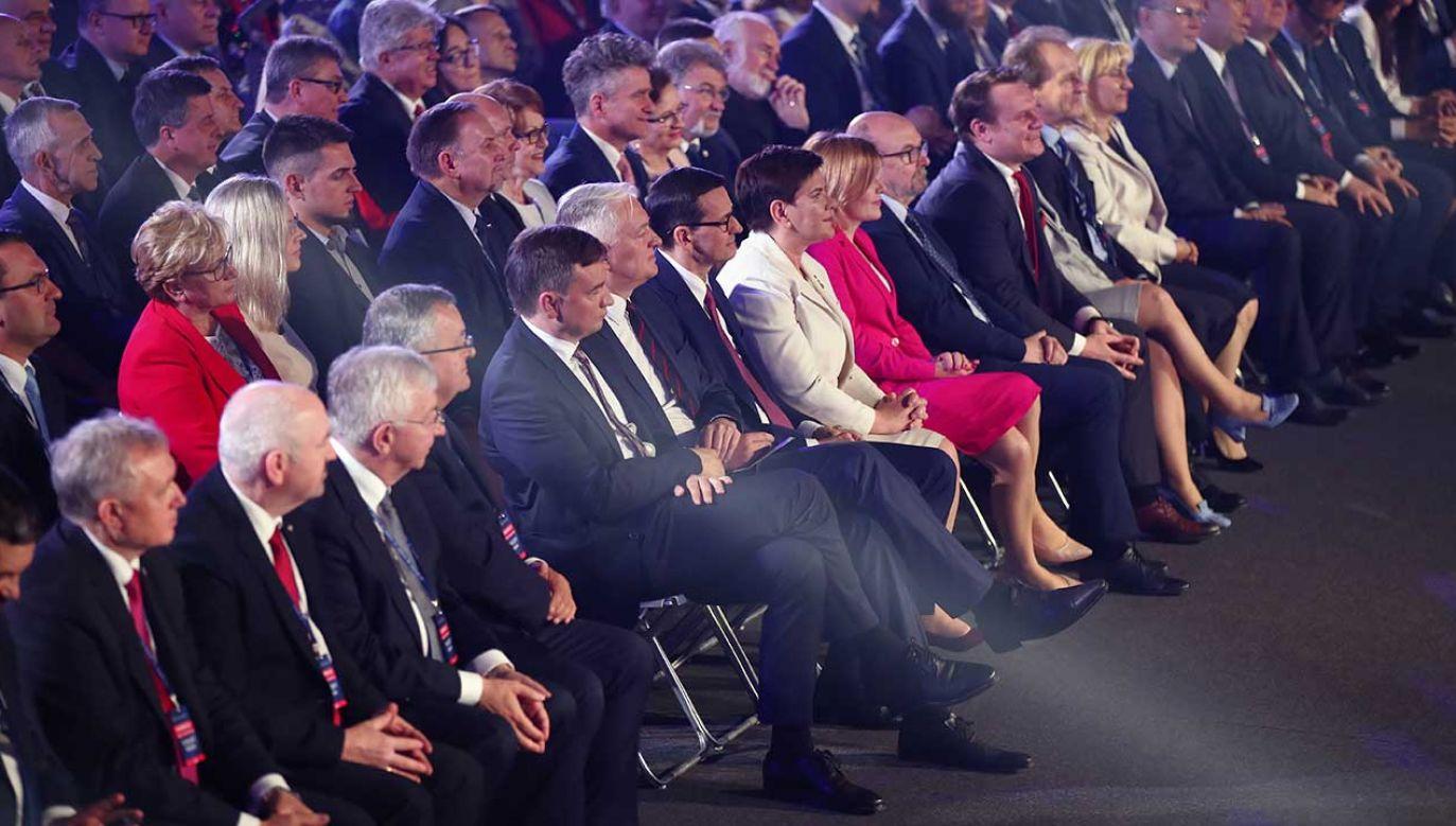 W piątek odbyło się wyjazdowe posiedzenie klubu Prawa i Sprawiedliwości (fot. arch. PAP/Łukasz Gągulski)