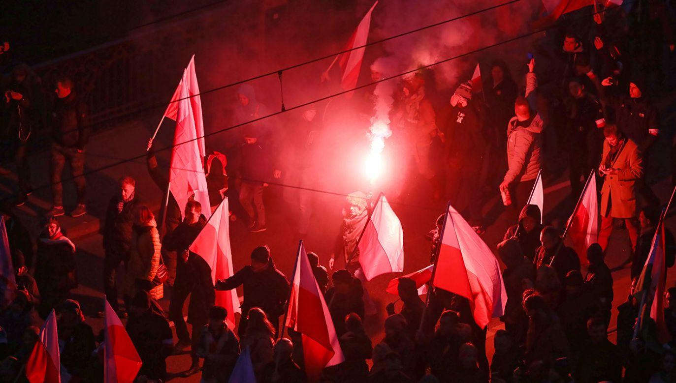 Minister Brudziński o bezpieczeństwie podczas marszu (fot. PAP/Paweł Supernak)