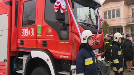 Strażacy z OSP dostali nowy wóz. Kolejny trafi do Różanek