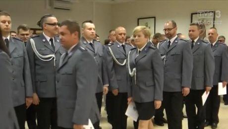 Medale i awanse bydgoskich policjantów
