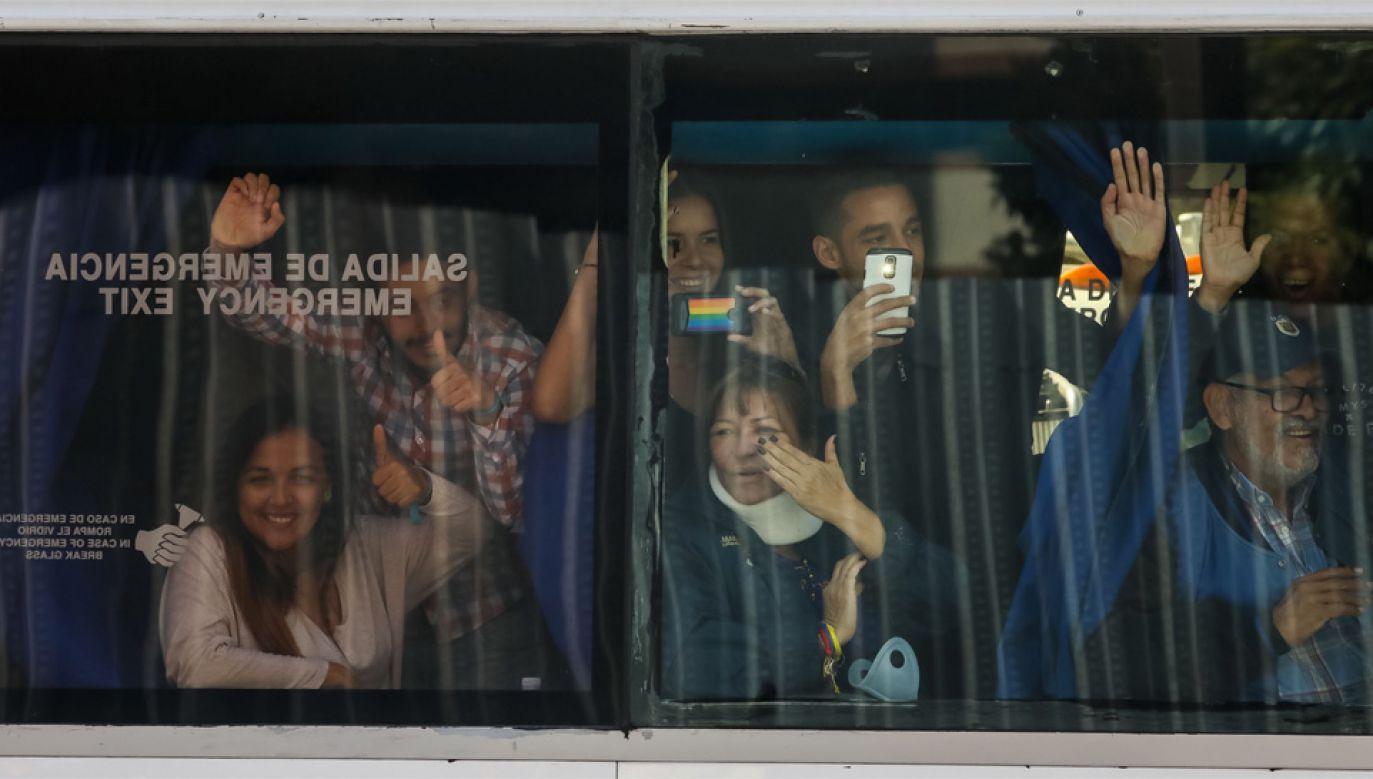 Do Wenezueli wyemigrowało około 5 tys. Węgrów (fot. PAP/EPA/Miguel Gutierrez)