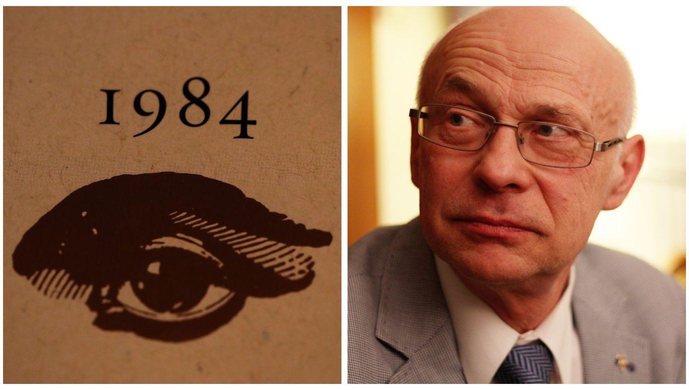 "The threats of cyborgization ""take us to the '1984' universe,"