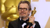 """Za najlepszą rolę męską, w filmie """"Czas mroku"""", Oscara dostał Gary Oldman (fot. REUTERS/Mike Blake)"""