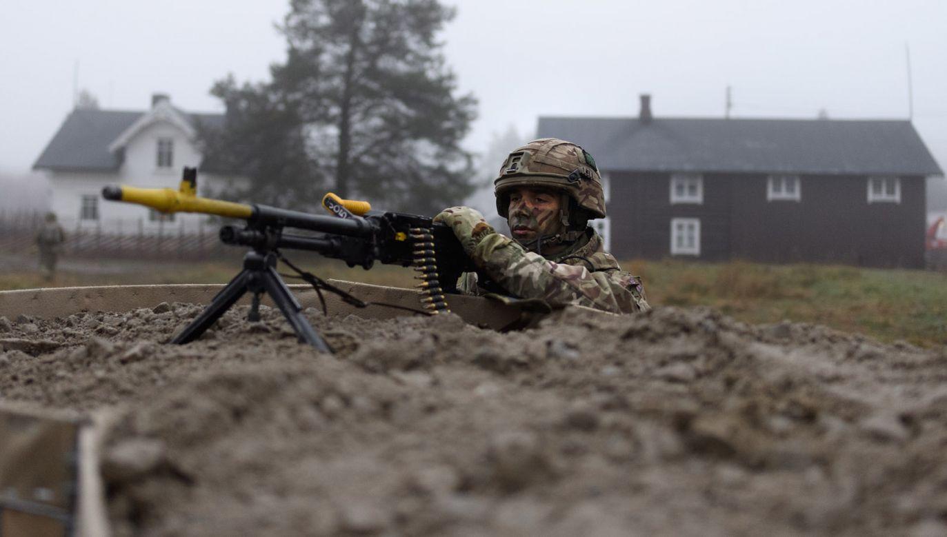 Chodzi o niedawno zakończone ćwiczenia Trident Juncture na północy Europy (fot. Leon Neal/Getty Images)
