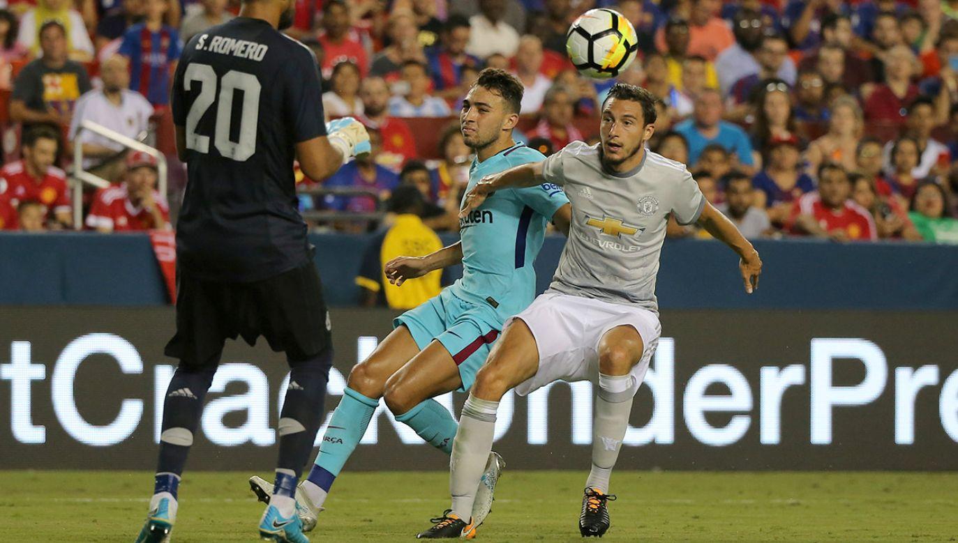 W tym sezonie zostanie napisany kolejny rozdział rywalizacji Barcelony z Manchesterem United (fot. REUTERS/Carlos Barria)
