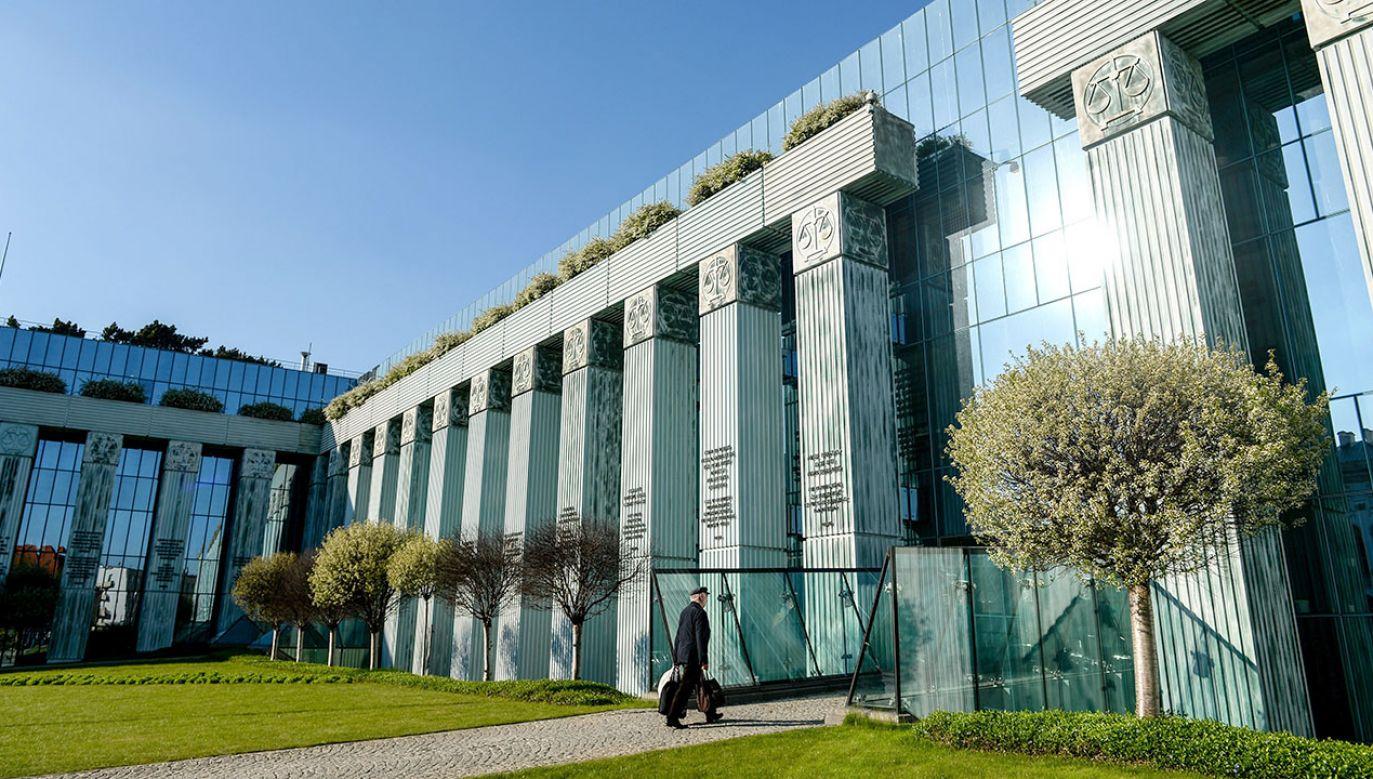 PiS  złożył w Sejmie  projekt noweli ustawy o Sądzie Najwyższym (fot. arch.PAP/Marcin Obara)