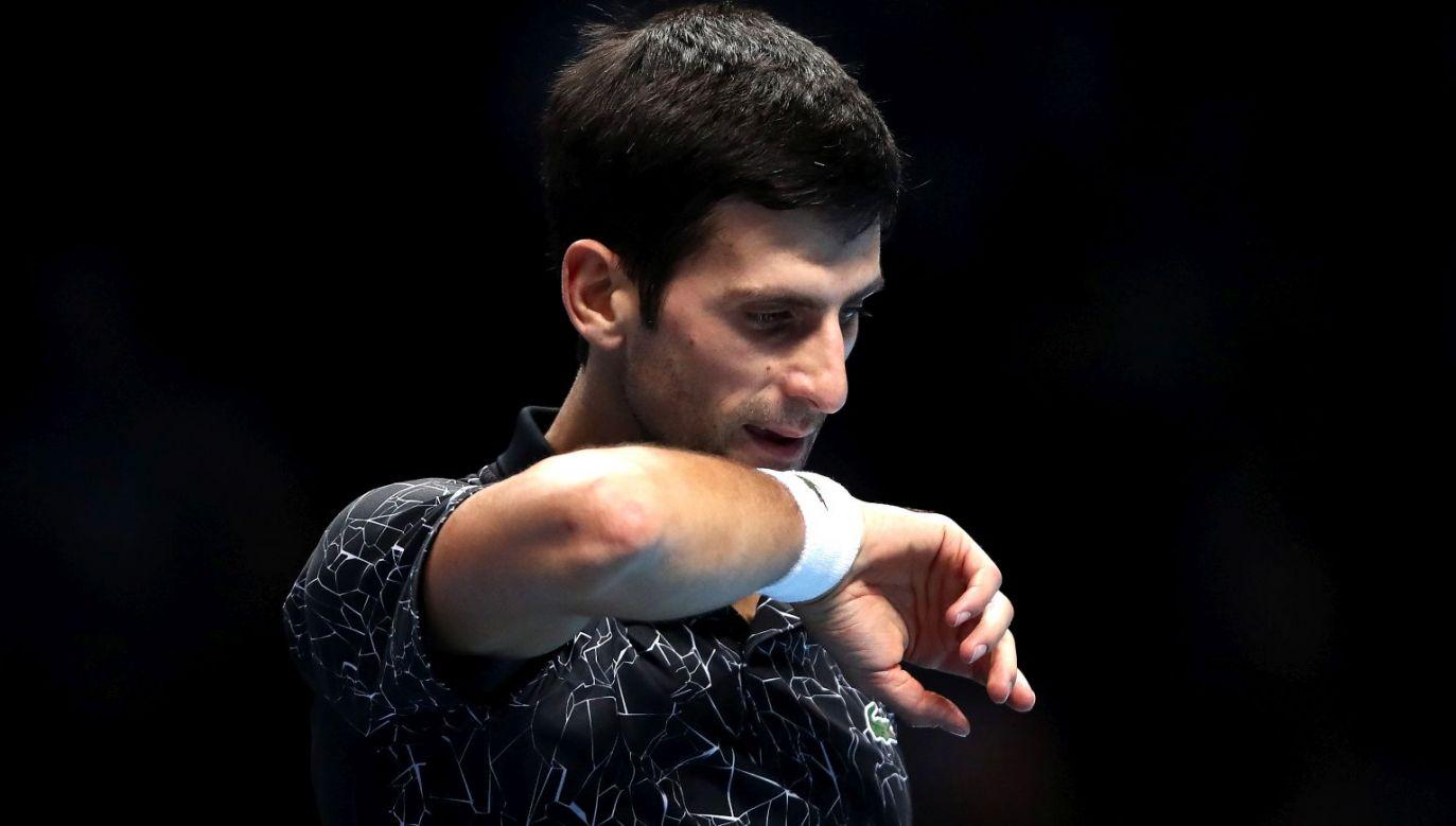 Novak Djoković (fot. Getty)