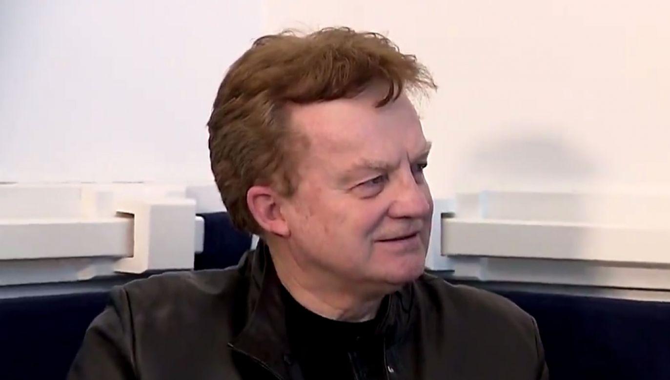 Felicjan Andrzejczak wspomina swoją karierę (fot. TVP Info)
