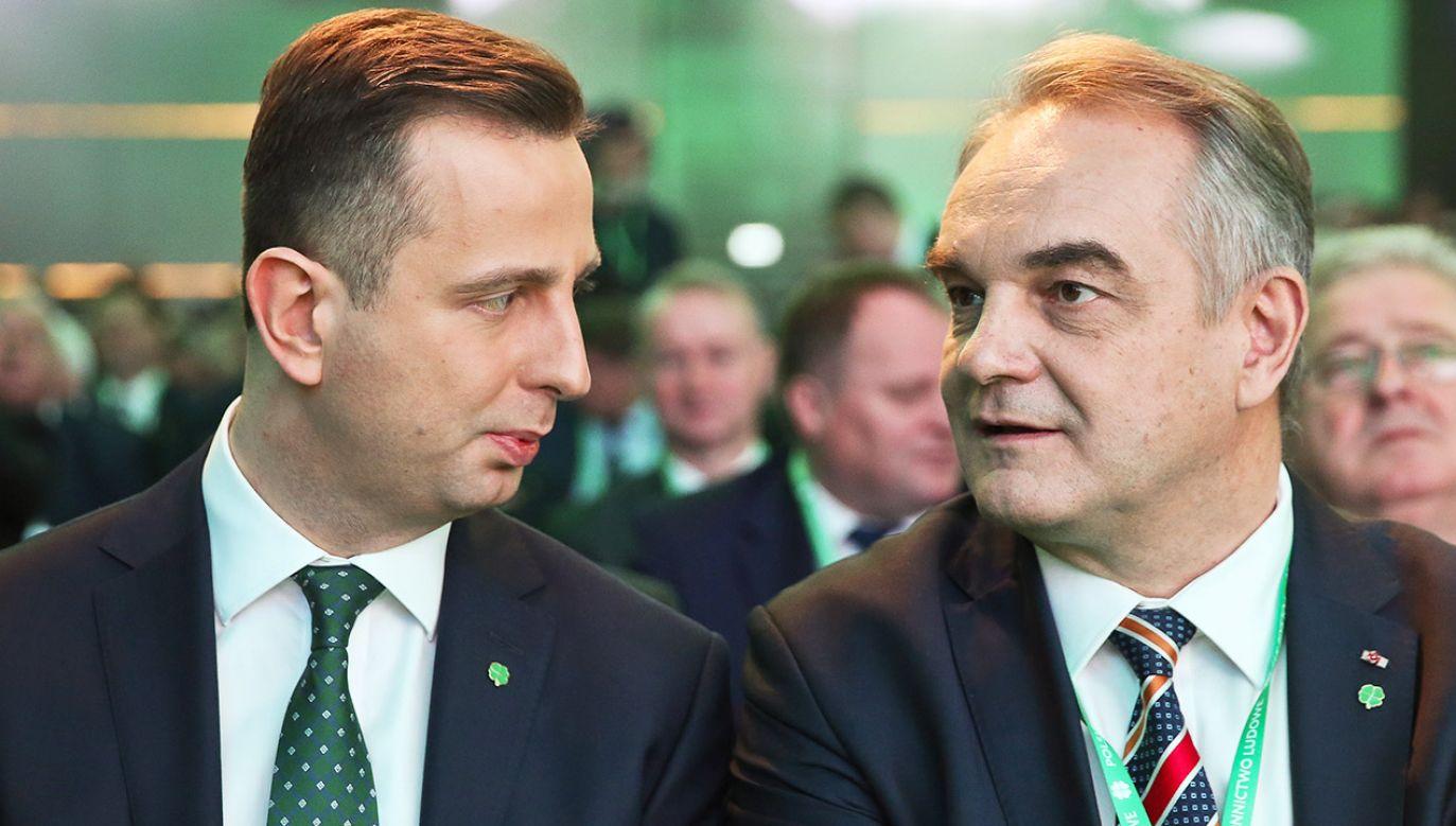 Portal tvp.info dotarł do nagrania rozmowy Władysława Kosiniaka-Kamysza i Waldemara Pawlaka (fot. arch.PAP/Rafał Guz)