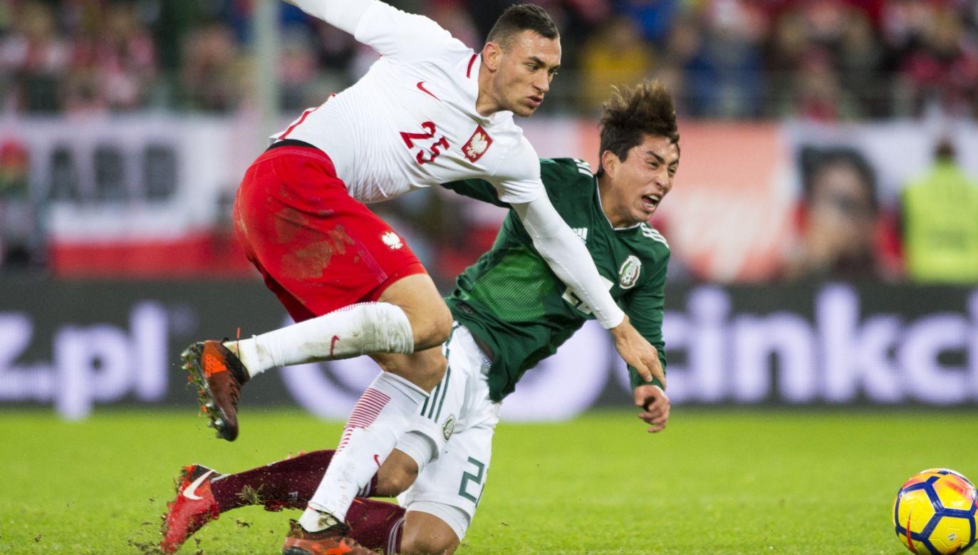 Jarosław Jach w meczu Polska – Meksyk (Fot. Getty)