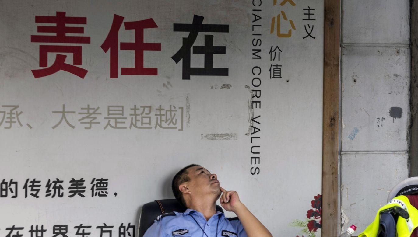 Obawy budzi nie tylko spór o cła, ale także podejmowane przez Pekin próby kradzieży wiedzy i badań technologicznych (fot. PAP/EPA/ALEKSANDAR PLAVEVSKI)