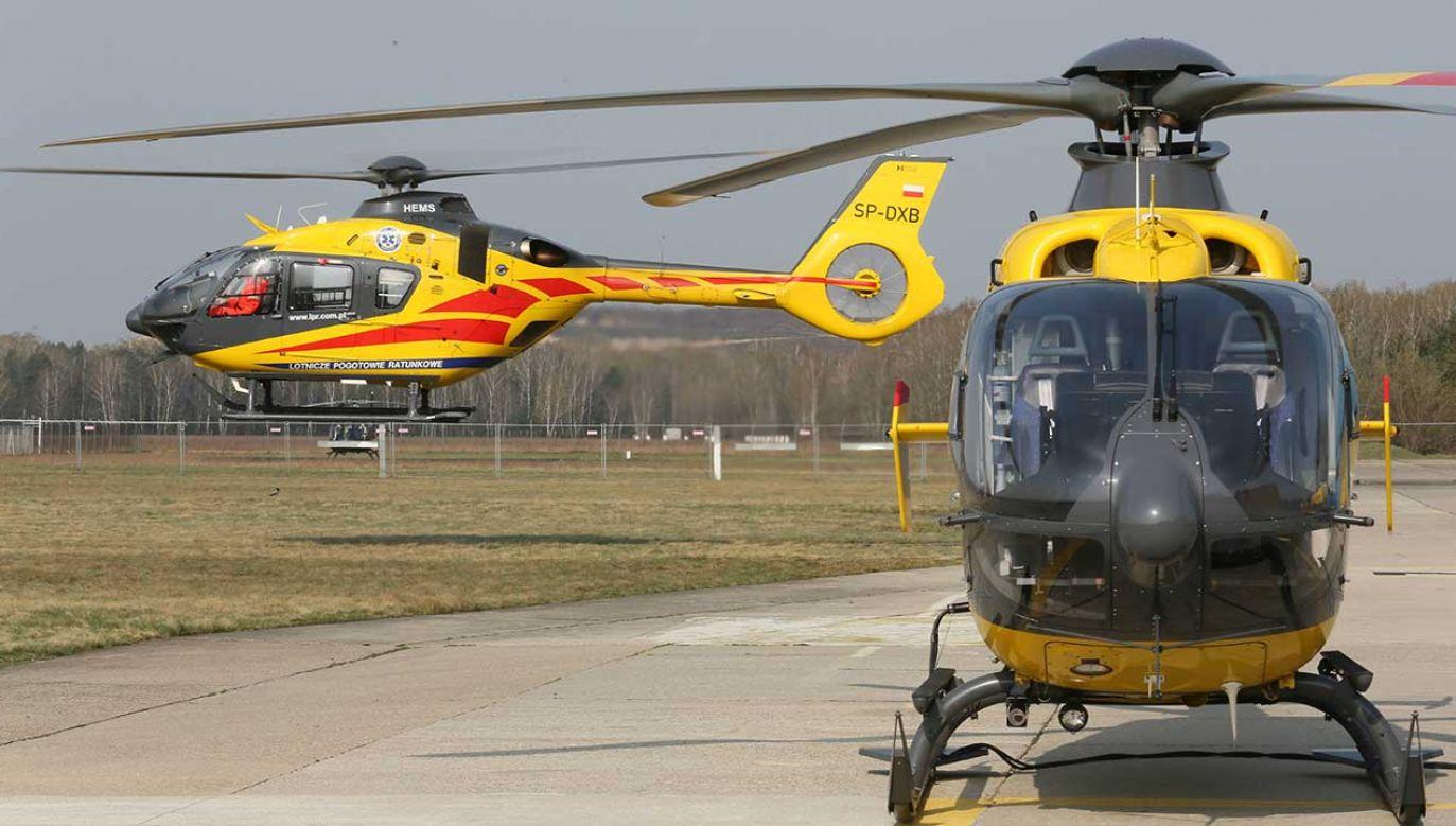 Baza Śmigłowcowej Służby Ratownictwa Medycznego (HEMS) to druga w Wielkopolsce i 21 w kraju baza Lotniczego Pogotowia Ratunkowego (fot. arch. PAP/Leszek Szymański)