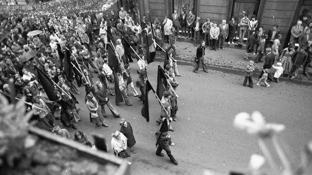 Studencki Komitet Solidarności został powołany do życia 15 maja 1977 roku (fot. arch.PAP/CAF/Maciej Sochor)