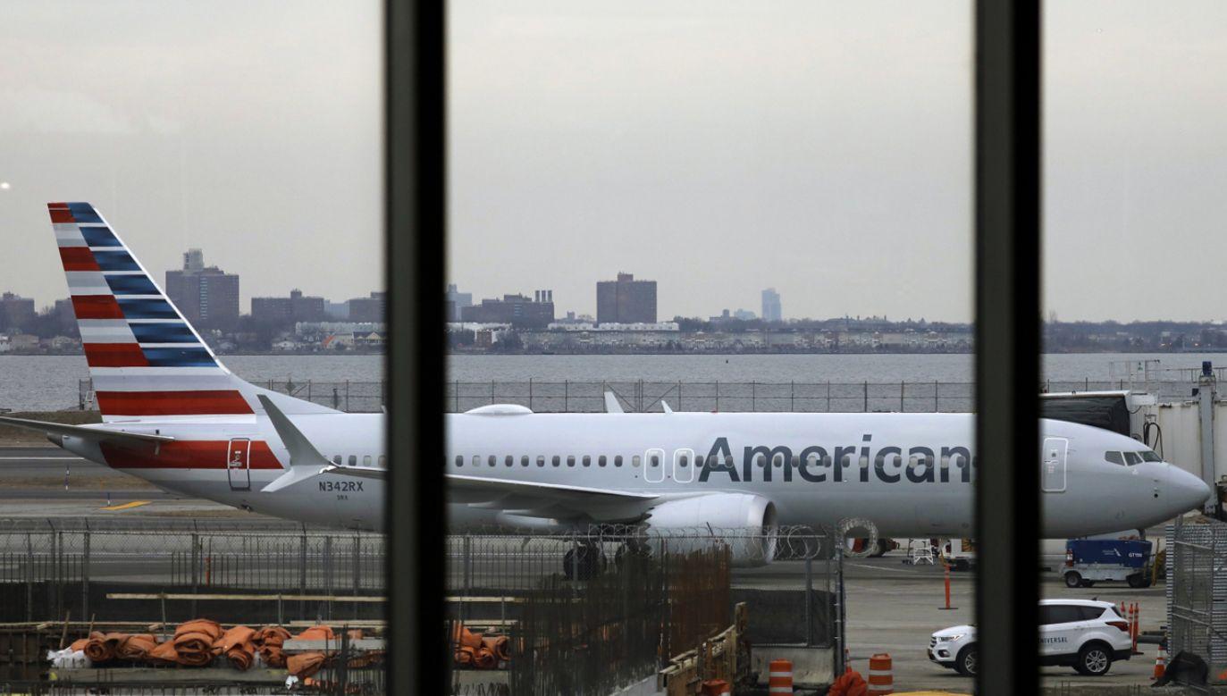 Amerykański koncern lotniczy Boeing planuje zaktualizować oprogramowanie we wszystkich samolotach typu 737 MAX  (fot. PAP/EPA/JEROME FAVRE)