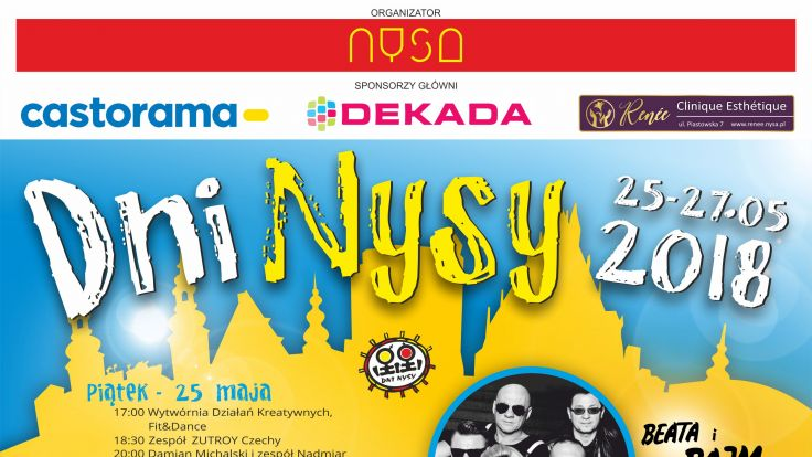 IDni Nysy 2018 - komunikat organizatora