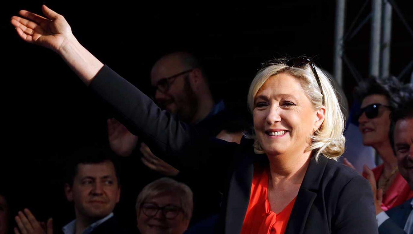 Na partię Marine Le Pen zagłosowało ponad 24 proc. Francuzów (fot. REUTERS/Pascal Rossignol)