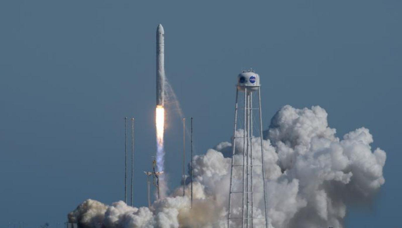 Polskie satelity będą w przestrzeni kosmicznej przez ok. rok (fot. NASA/Bill Ingalls/Handout via REUTERS)