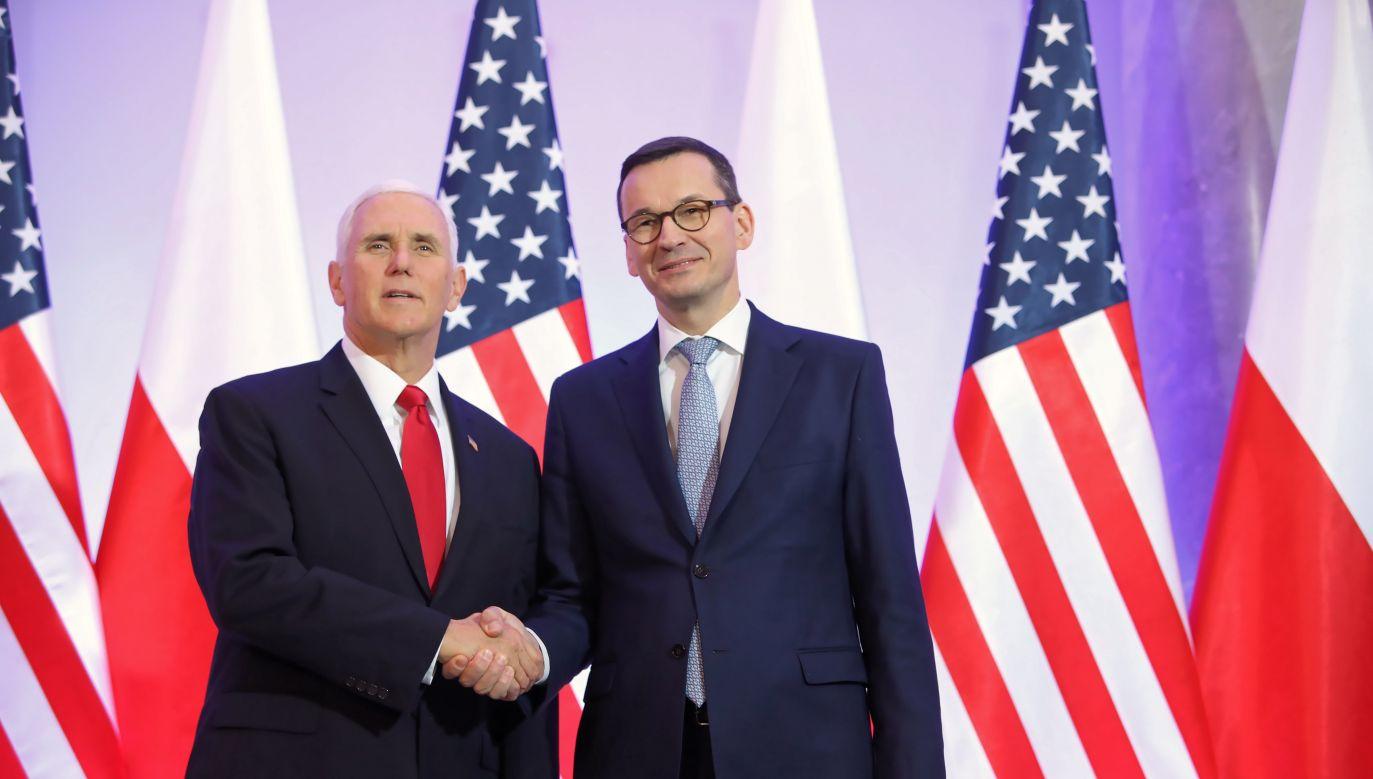 Podzielamy wiele z amerykańskich niepokojów wyrażonych podczas konferencji – przyznał premier (fot. PAP/Leszek Szymański)