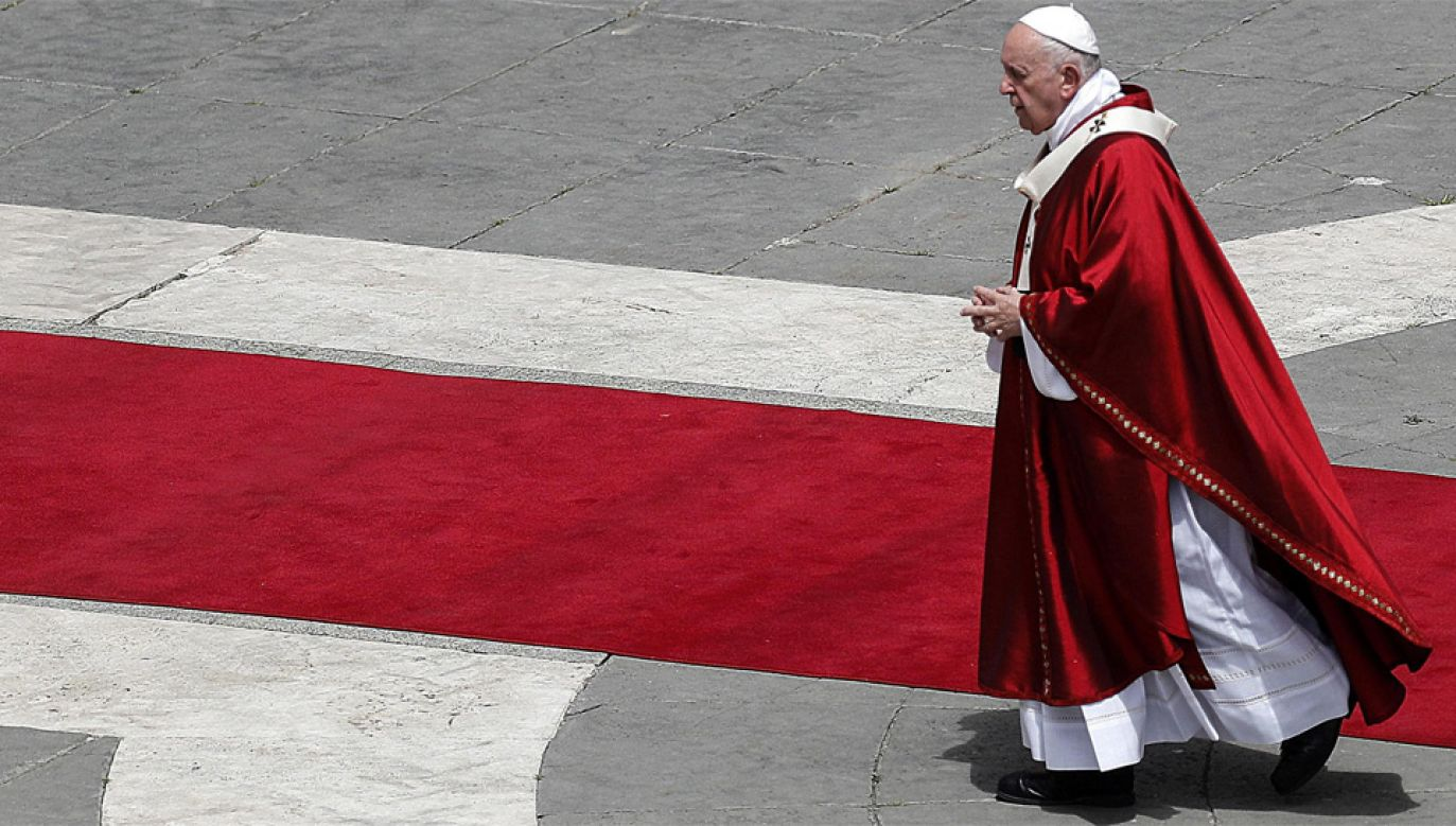 Papież Franciszek został poinformowany o incydencie (fot. PAP/EPA/RICCARDO ANTIMIANI)