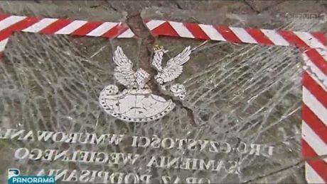 Przykry akt wandalizmu w parku w Kartuzach