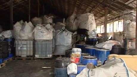 Niebezpieczne odpady były niewłaściwie przechowywane