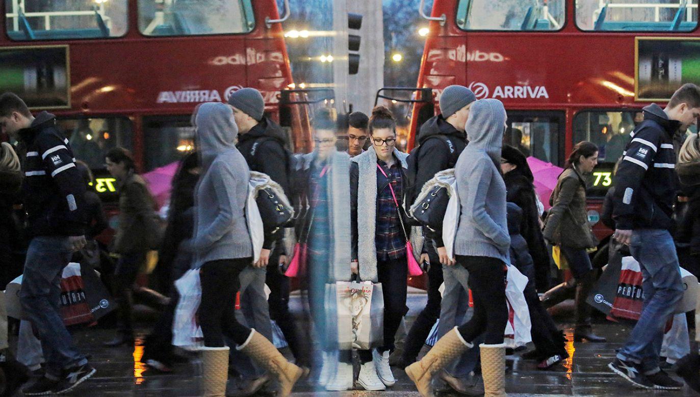 W ubiegłym roku liczba obywateli UE mieszkających w Wielkiej Brytanii wzrosła o 101 tys. (fot. REUTERS/Luke MacGregor/File Photo)