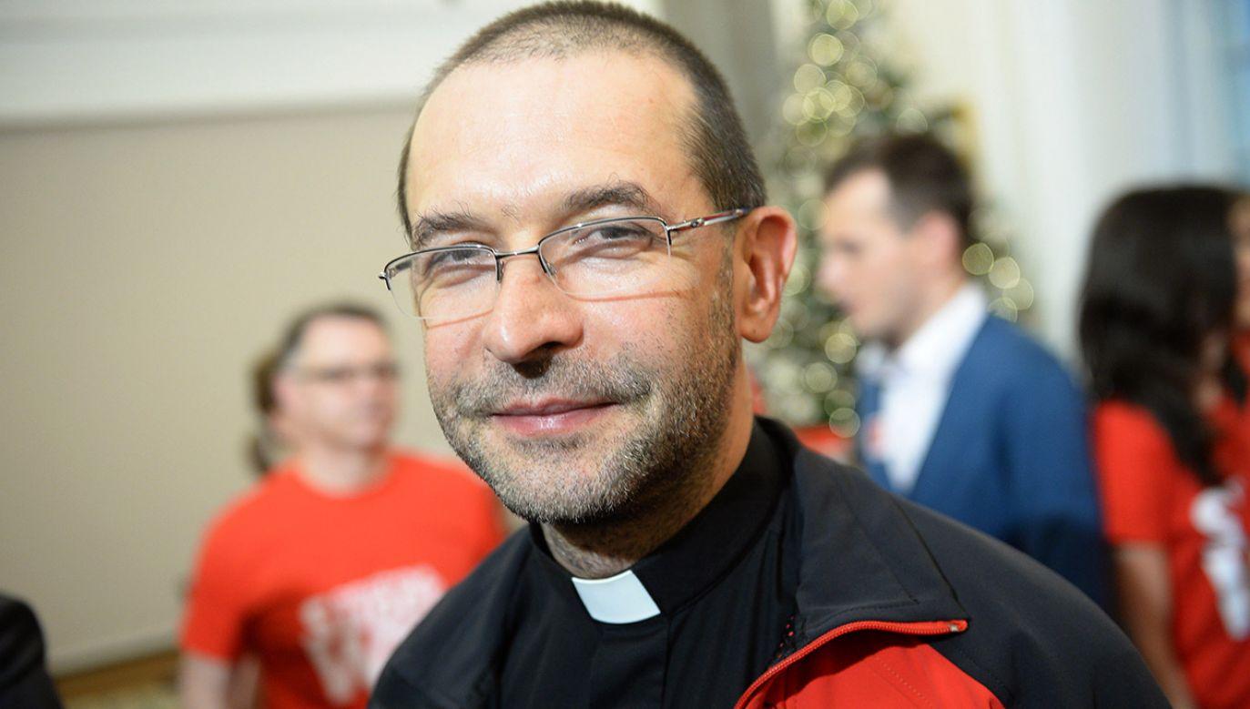 Ks. Jacek Stryczek (fot. arch.PAP/Jacek Turczyk)