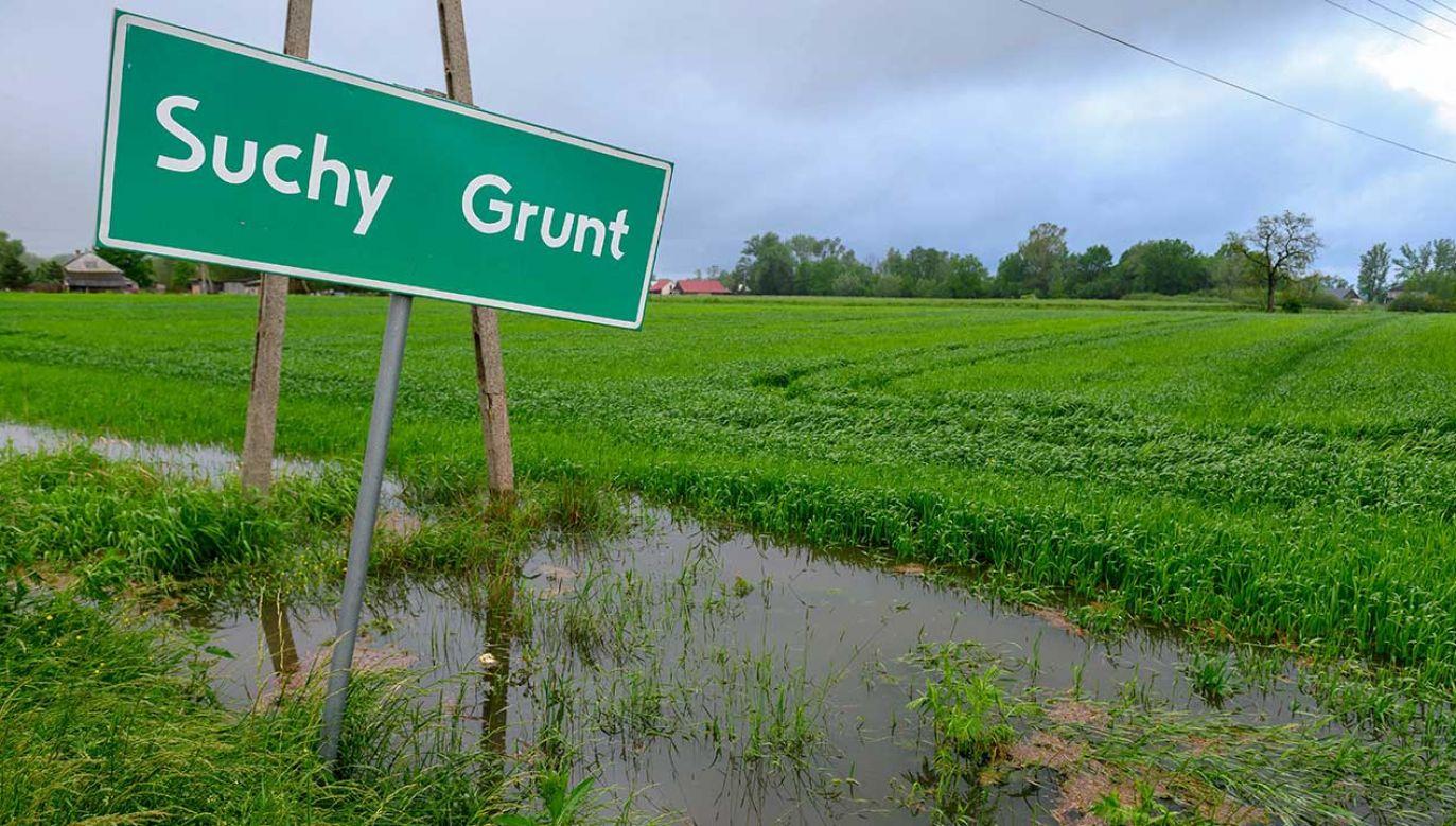 Na południu kraju w związku z intensywnymi opadami deszczu obowiązuje trzeci, najwyższy stopień zagrożenia hydrologicznego (fot. PAP/Paweł Topolski)
