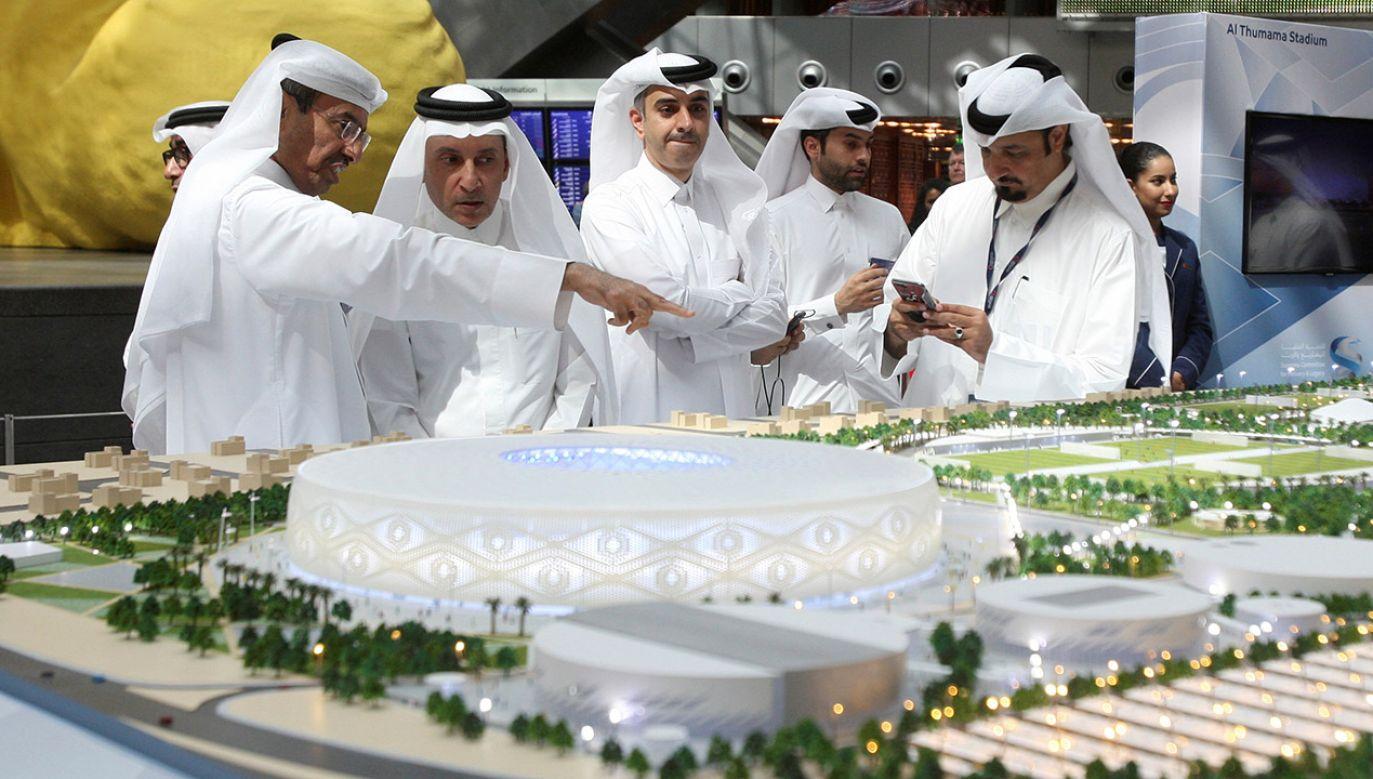 Prezydent FIFA podał dokładne ramy czasowe turnieju (fot. REUTERS/Naseem Zeitoon)