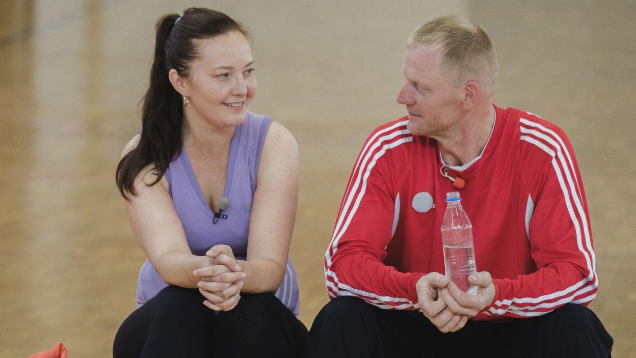 Po grze nastał czas na szczerą rozmowę. Joasia pragnie, by Marek okazał swoim wybrankom więcej uczucia i podjął decyzję (fot. TVP)