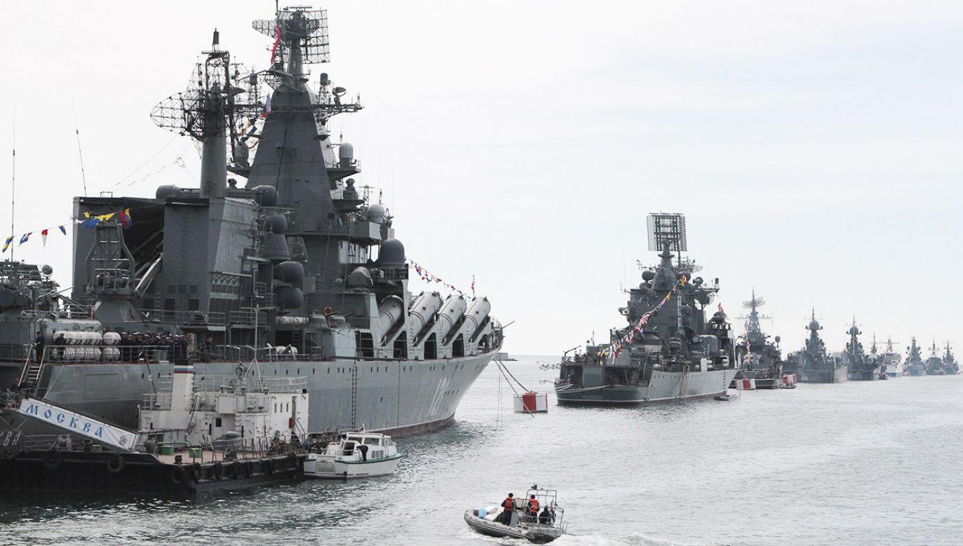 Były oficer sztabu rosyjskiej Floty Czarnomorskiej usłyszał wyrok 14 lat w kolonii karnej (fot. REUTERS/Stringer)